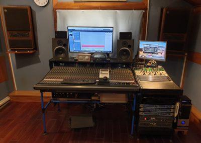 Postazione mixer 2 dopo